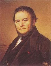 Portrait stendhal 1840