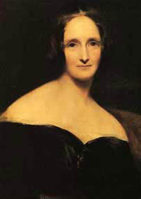 Portrait de Mary Shelley par Richard Rothwell.